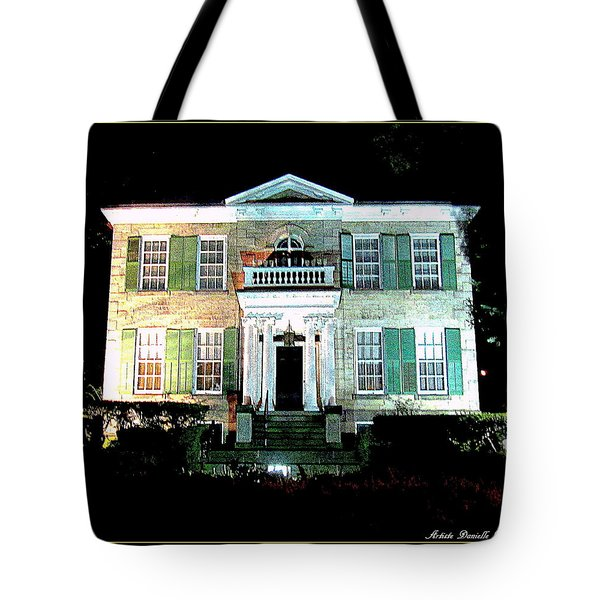 Whitehern Historic House And Garden Tote Bag by Danielle  Parent