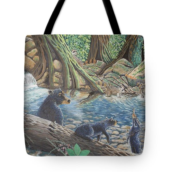 Whos Got Who Tote Bag by Carey MacDonald