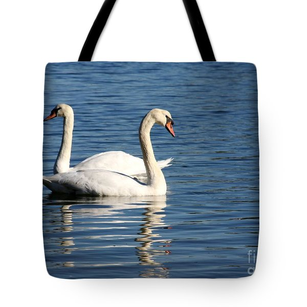 Wild Swans Tote Bag by Sabrina L Ryan