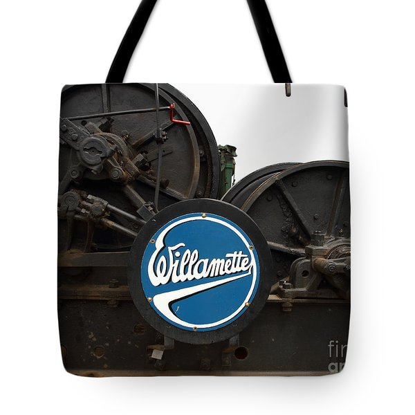 Willamette Steam Engine 7d15104 Tote Bag by Wingsdomain Art and Photography