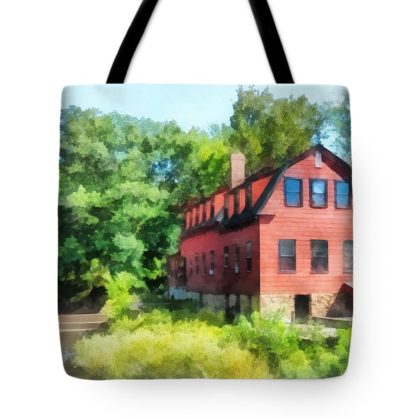 Williams-droescher  Mill Tote Bag by Susan Savad