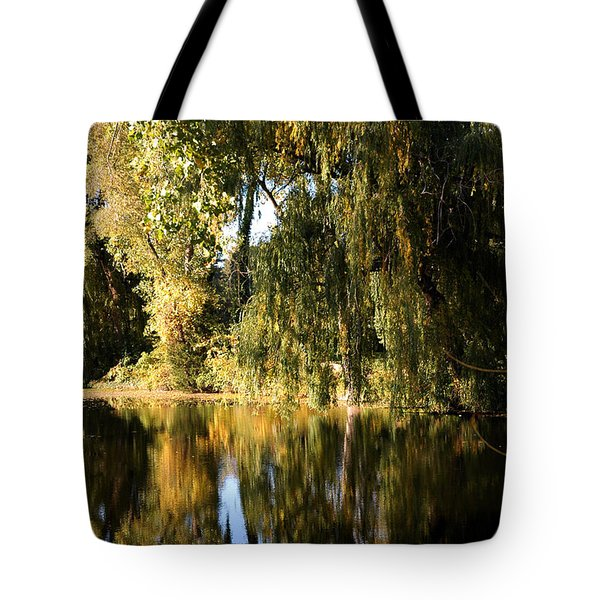 Willow Mirror Tote Bag by LeeAnn McLaneGoetz McLaneGoetzStudioLLCcom