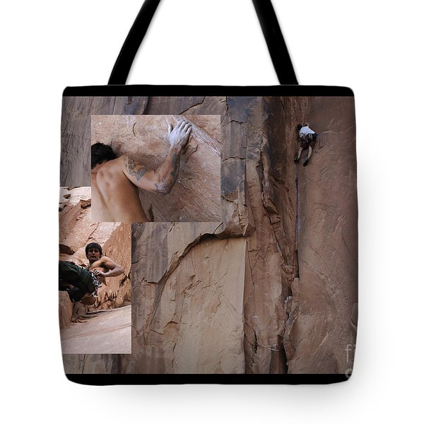 Willpower No Caption Tote Bag by Bob Christopher
