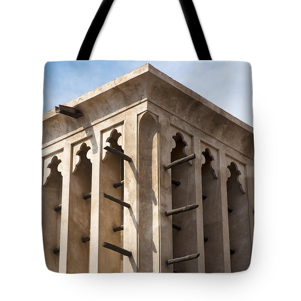 Wind Tower Tote Bag by Fabrizio Troiani