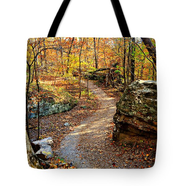 Winding Trail Tote Bag by Marty Koch