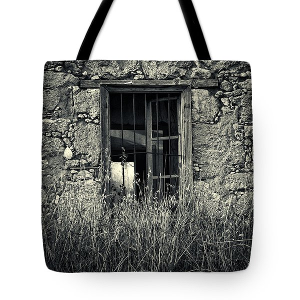 window of memories Tote Bag by Stylianos Kleanthous