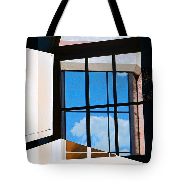 Window Treatment Tote Bag by Lenore Senior