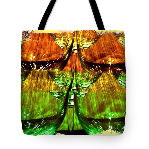 Wine And Dine 2 Tote Bag by Will Borden