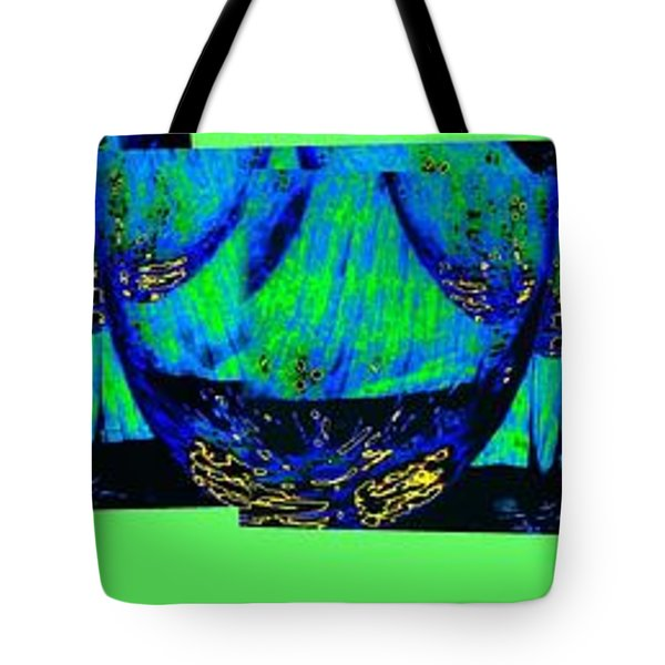 Wine And Dine 3 Tote Bag by Will Borden