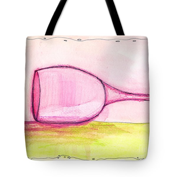 Wine-o Tote Bag by Michael Mooney