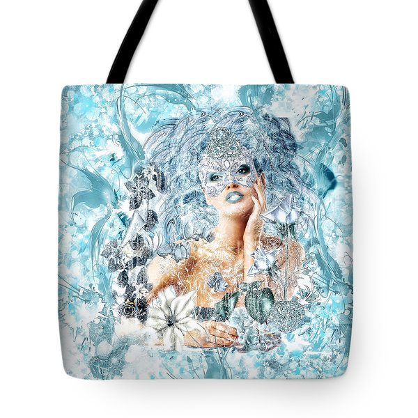 Winter Tote Bag by Mo T