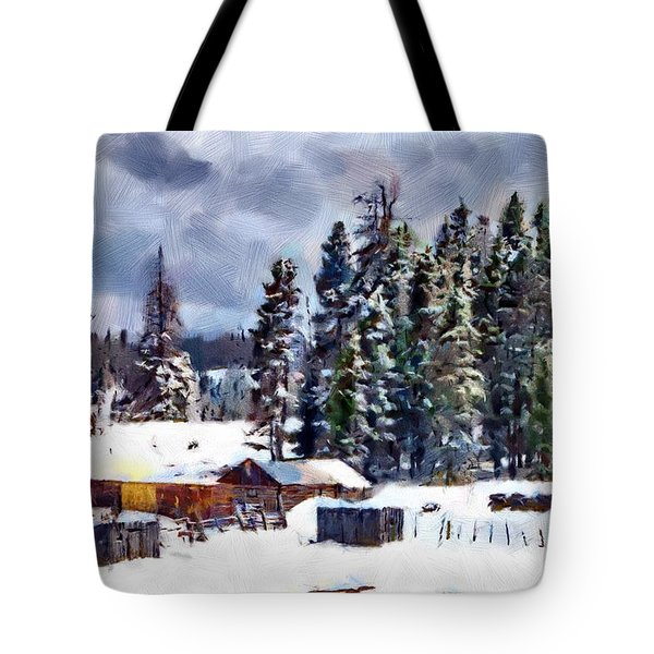 Winter Seclusion Tote Bag by Jeff Kolker