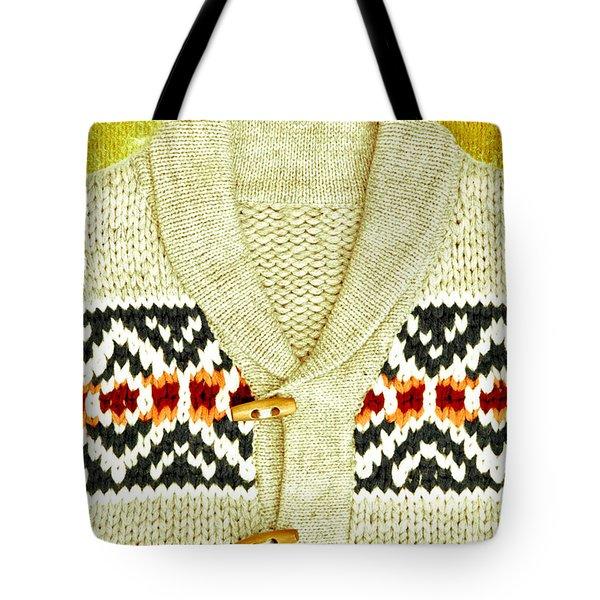 Winter Top Tote Bag by Tom Gowanlock