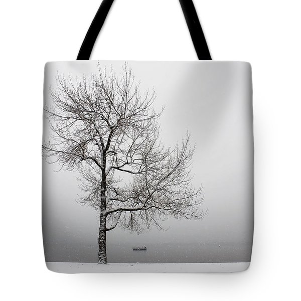 wintertrees Tote Bag by Joana Kruse