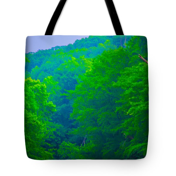 Wissahickon Creek Tote Bag by Bill Cannon