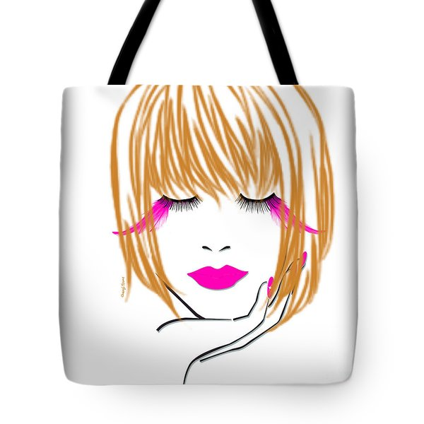 Woman 10 Tote Bag by Cheryl Young