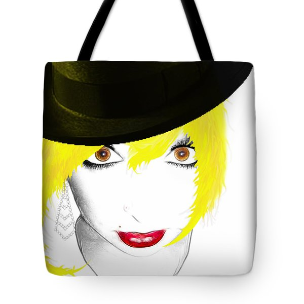 Woman 13 Tote Bag by Cheryl Young
