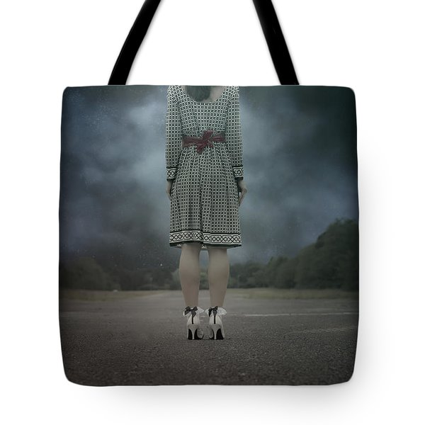 Woman On Street Tote Bag by Joana Kruse