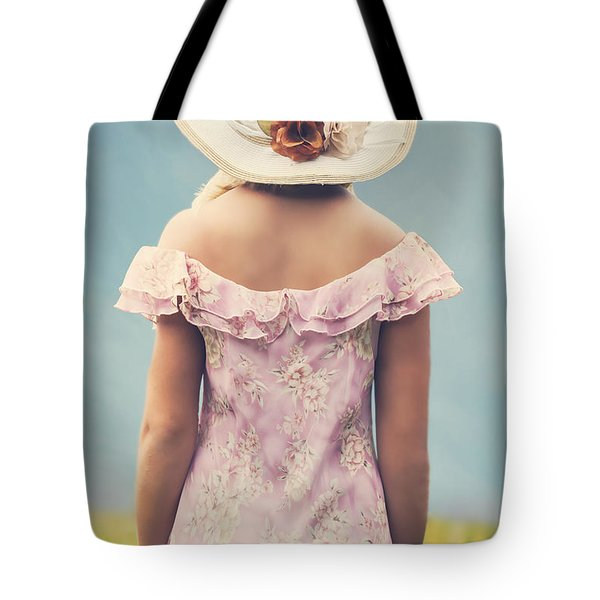 woman with hat Tote Bag by Joana Kruse
