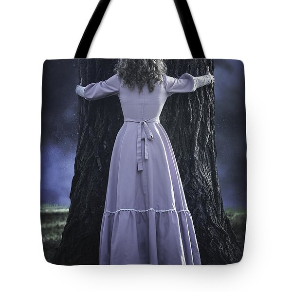 woman with trunk Tote Bag by Joana Kruse