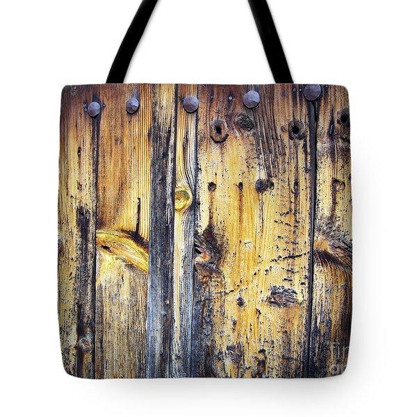 Wood Tote Bag by Eena Bo