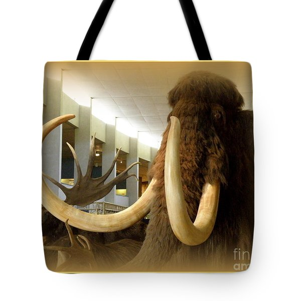 Wooly Mammoth Tote Bag by Lainie Wrightson