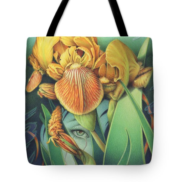 Words Left Unspoken Tote Bag by Amy S Turner