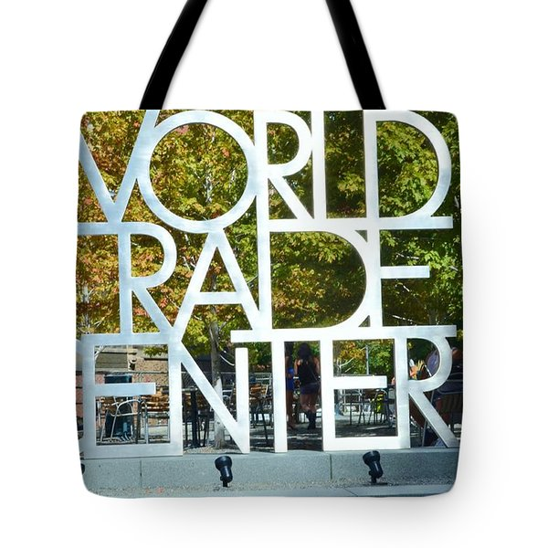 World Trade Center Tote Bag by Kathleen Struckle