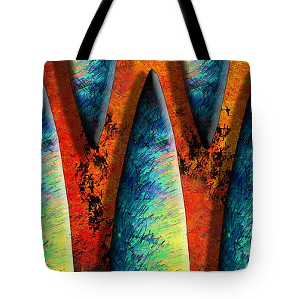 World Wide Web Tote Bag by Paul Wear