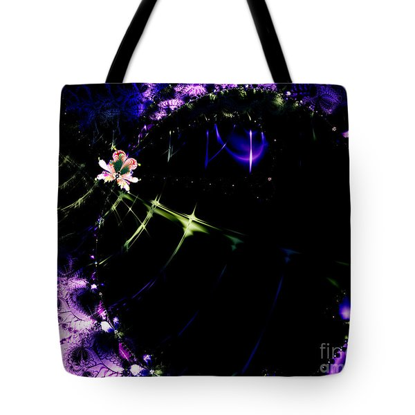 Wormhole Beyond . S4a.S10 Tote Bag by Wingsdomain Art and Photography