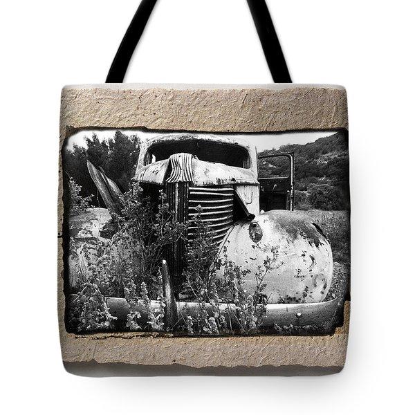 Wreck 1 Tote Bag by Mauro Celotti