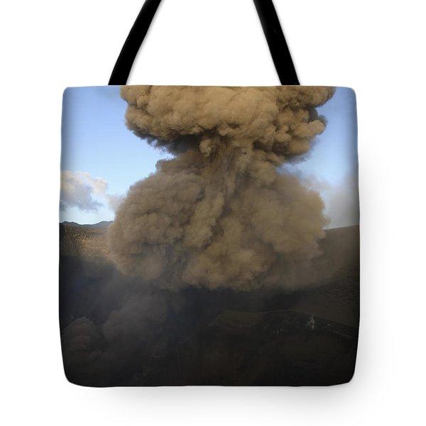 Yasur Eruption, Tanna Island, Vanuatu Tote Bag by Martin Rietze