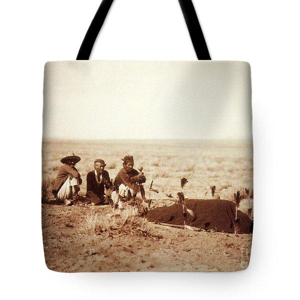 Yebichai Sweat, 1905 Tote Bag by Photo Researchers
