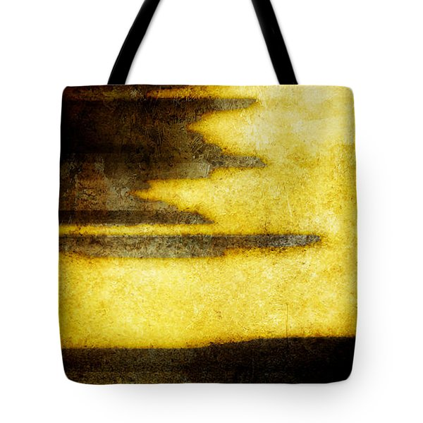 Yellow Tote Bag by Brett Pfister