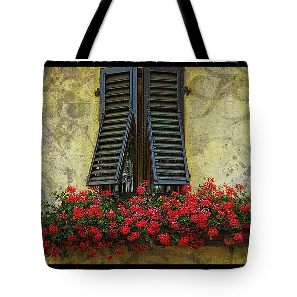 Yellow Wall Tote Bag by Mauro Celotti