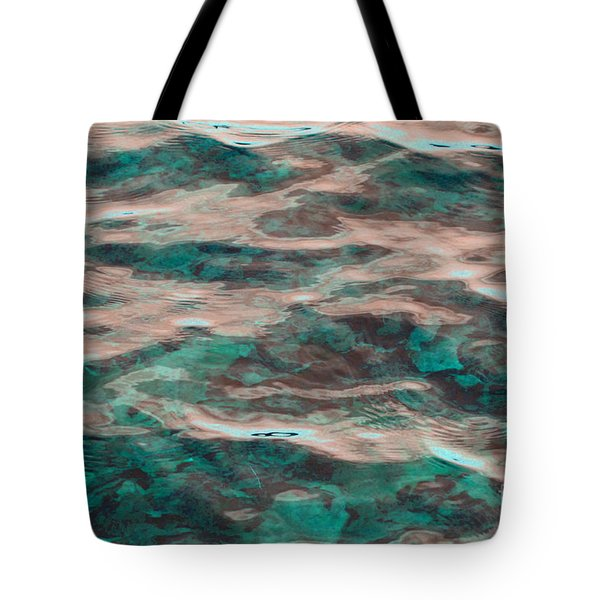 Yellowstone Abstract Tote Bag by Cindy Lee Longhini