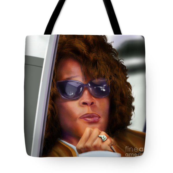 Yes My Name Is Ms Houston Tote Bag by Reggie Duffie