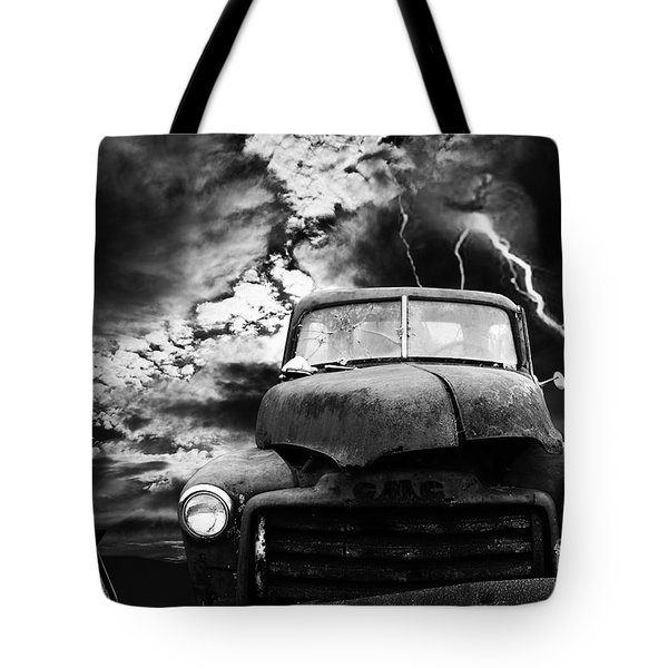 Yesterday Came Early . Tomorrow Is Almost Over . Bw Tote Bag by Wingsdomain Art and Photography