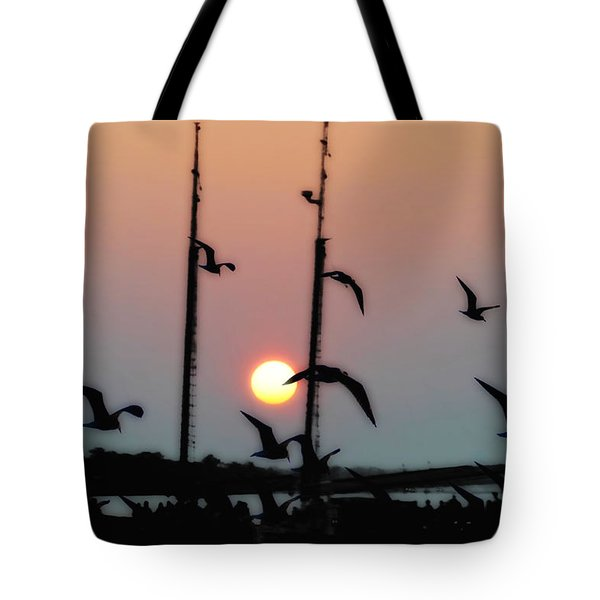 Yorktown Virginia Tote Bag by Bill Cannon