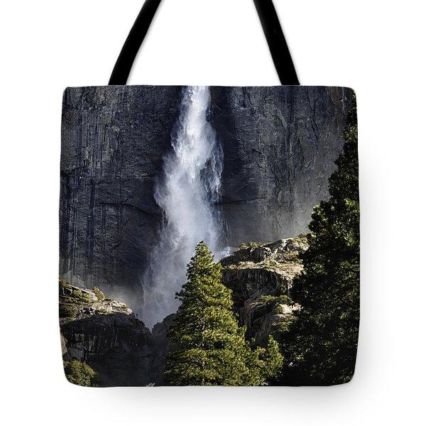 Yosemite Falls Tote Bag by Rick Berk