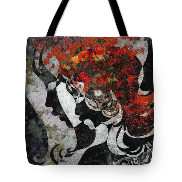 You Are The Only One 3 Tote Bag by Angelina Vick