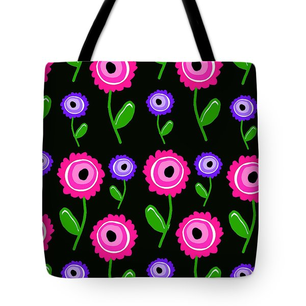 Young Florals  Tote Bag by Louisa Knight