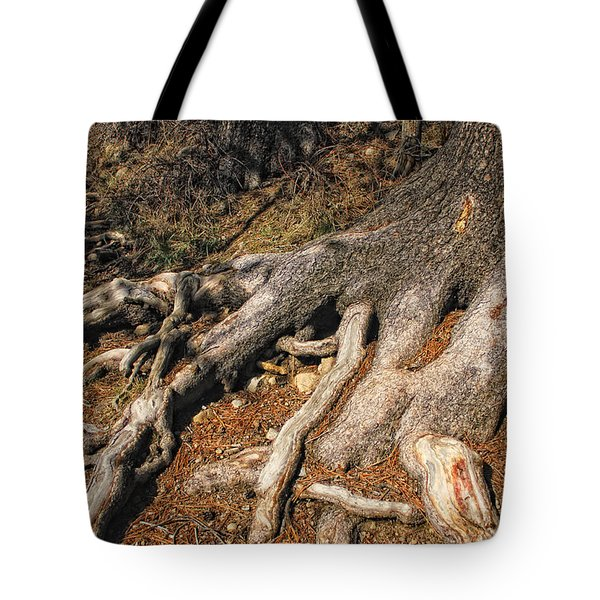 Your Roots Are Showing Tote Bag by Donna Blackhall