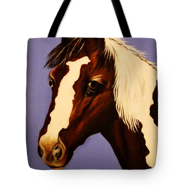 Zachariah Tote Bag by Adele Moscaritolo