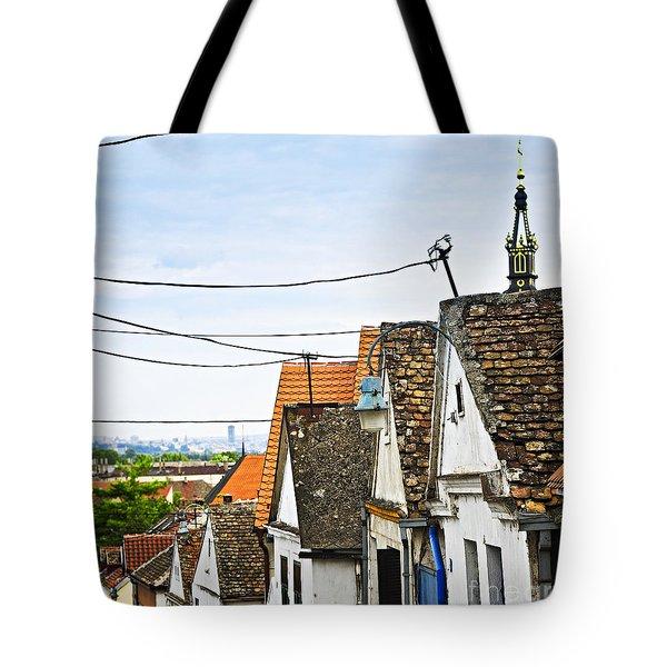 Zemun Rooftops In Belgrade Tote Bag by Elena Elisseeva