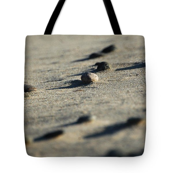 Zen Rocks Abstract Tote Bag by AdSpice Studios