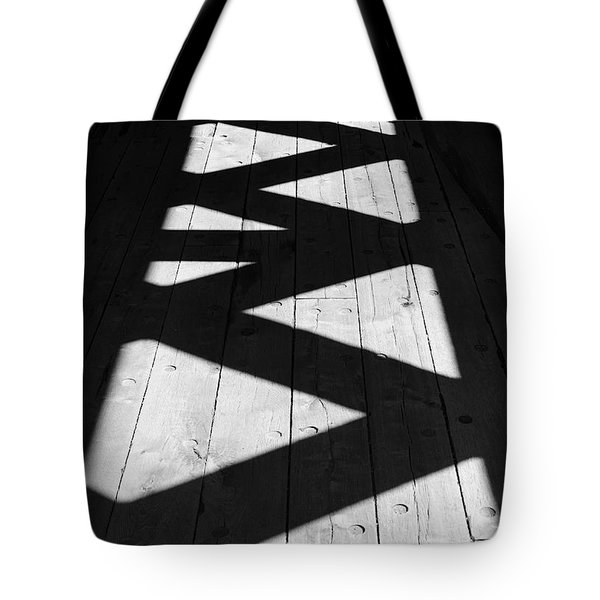 ZigZag  Tote Bag by Luke Moore
