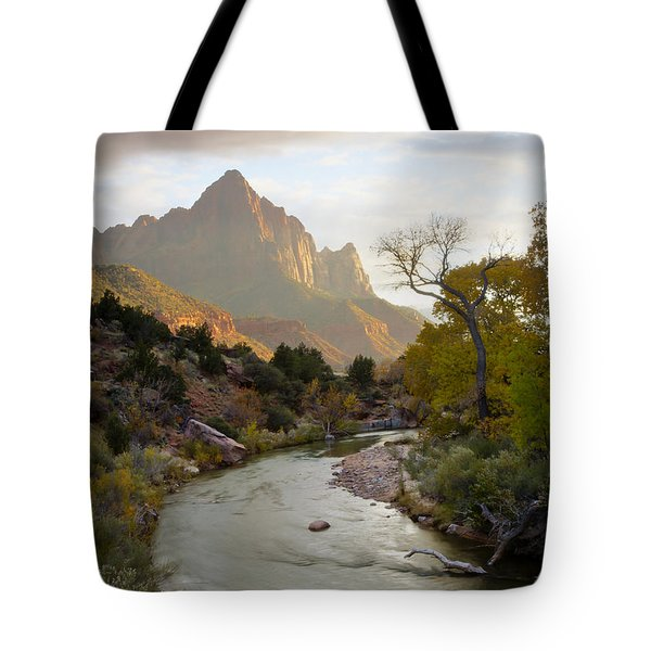 Zion View Tote Bag by Idaho Scenic Images Linda Lantzy