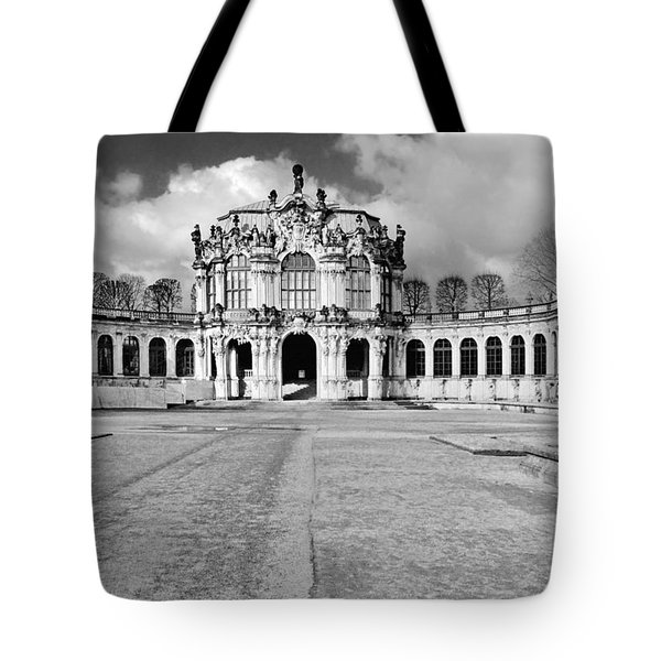Zwinger Dresden Rampart Pavilion - Masterpiece Of Baroque Architecture Tote Bag by Christine Till