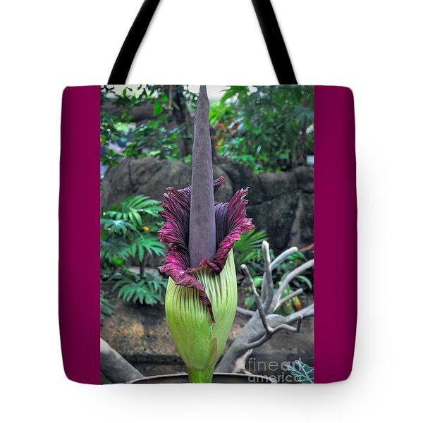 Corpse Flower Tote Bag by Savannah Gibbs